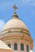 Kuppel der st. louis kathedrale, fort, martinique — Stockfoto