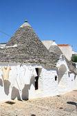 Truli houses in the center of Alberobello, Puglia, Italy. — Stock Photo