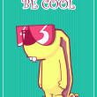 Be cool. — Stock Vector