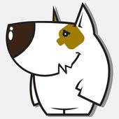 Komik köpek karakteri. — Stok Vektör