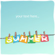 Summer — Stock Vector #20299581