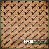 EPS10 vintage background — Stock Vector