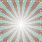 Retro sunbeams background. — Stock Vector