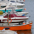 Boats in Harbor — Stockfoto #13996554