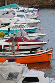 Boats in Harbor — Stock Photo