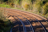 Rail Track Curves — Stock Photo