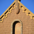 Church Roof Peak - Stock Photo