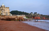 Seaside at Paignton — Stock Photo