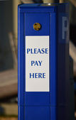 Parking Ticket Machine — Stock Photo