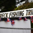 Stock Photo: Wreck Fishing Trips sign