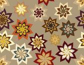 Achtergrond, naadloze en bruin kleuren — Stockvector
