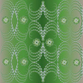 Green Background, seamless pattern — Stock Vector
