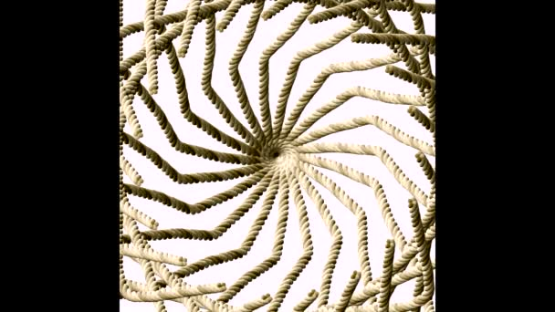 Abstracto, fractal, video — Vídeo de stock