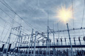 Power production facilities in CHINA — Stock Photo