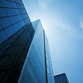 Modern glass building exterior — Stock Photo