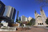 Brisbane's modern urban architecture — Stock Photo