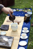 Japanese tea ceremony — Stock Photo