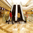 Stock Photo: Mall escalator