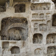 longmen grottoes buddha — Stock Photo