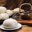 Stock Photo: Chinese food, steamed bun