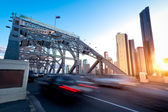Brisbane city bridge — Stock Photo