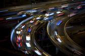 Highway traffic — Stock Photo