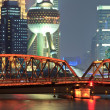 图库照片: Shanghai international metropolis night