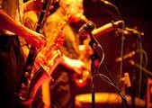 Jazz-scene — Stockfoto