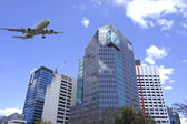 Brisbane stadt, moderne architektur — Stockfoto