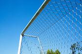 Football goal net — Stock Photo