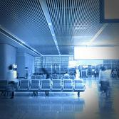 Terminal building lobby — Stock Photo