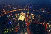 Shanghai Pudong skyline — Stock Photo