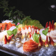 Stock Photo: Japanese sashimi