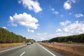 Busy highway in Australia — Foto Stock