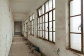 заброшенных зданий — Стоковое фото