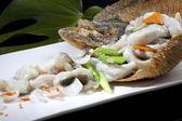 Chinese food  fish — Stock Photo