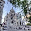 Sacre coeur in paris — Stock Photo