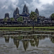 Angkor Wat Temple, Siem reap, Cambodia. — Stock Photo