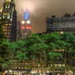 Empire State Building from Bryant Park — Stock Photo #14009529
