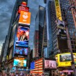 Packed Times Square, Manhattan, New York, USA — Stock Photo #14009638