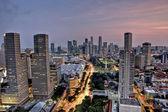 Città di sera — Foto Stock