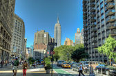 View on Empire State Building, New York, USA — Stock Photo