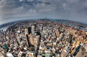 South Manhattan from the Empire State Building — Stock Photo