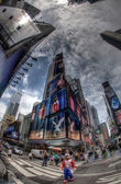Mickey Mouse on Times Square in New York City, USA — Stock Photo