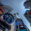 beroemde times square, new york city, Verenigde Staten — Stockfoto