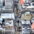 Manhattan, New York City, aerial skyline - Foto Stock
