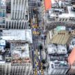 Manhattan, New York City, aerial skyline - Stock Photo