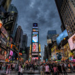 Packed Times Square — Stock Photo #14010091