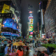 Raining in Times Square — Stock Photo #14010136