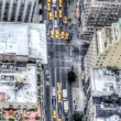 Manhattan, New York City, aerial skyline — Stock Photo #14010251